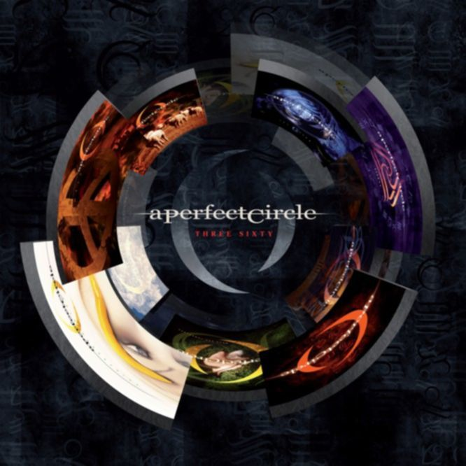 A Perfect Circle - Three Sixty 2CD Artwork
