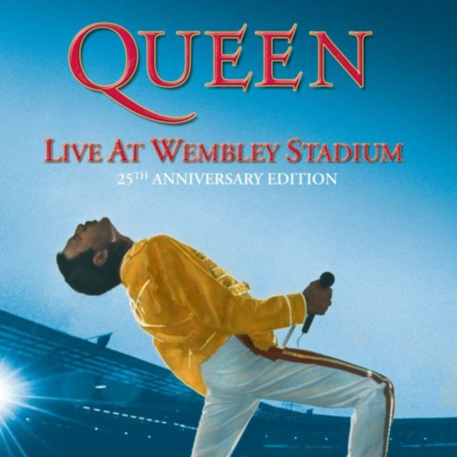 Queen Live At Wembley Stadium 25th Anniversary Edition