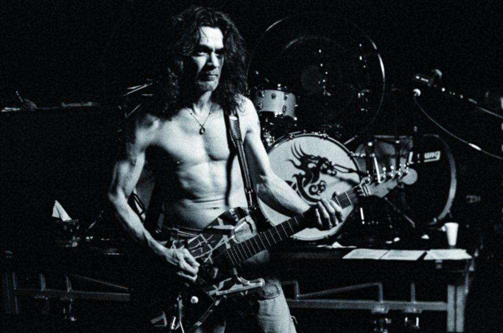 Eddie Van Halen 100 betse gitarristen