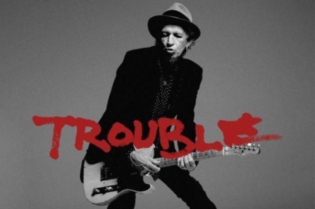 News: Keith Richards veröffentlicht erste Single aus Soloalbum. Hört hier den Song ›Trouble‹ ...