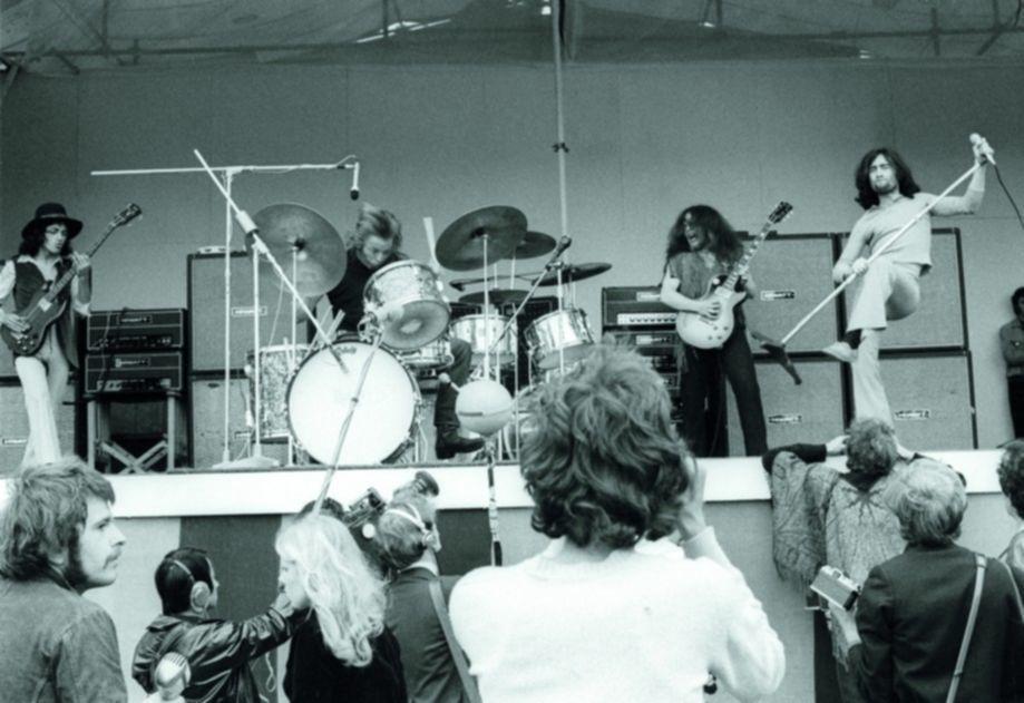 Isle of Wight Pop Festival, Britain - Aug 1969