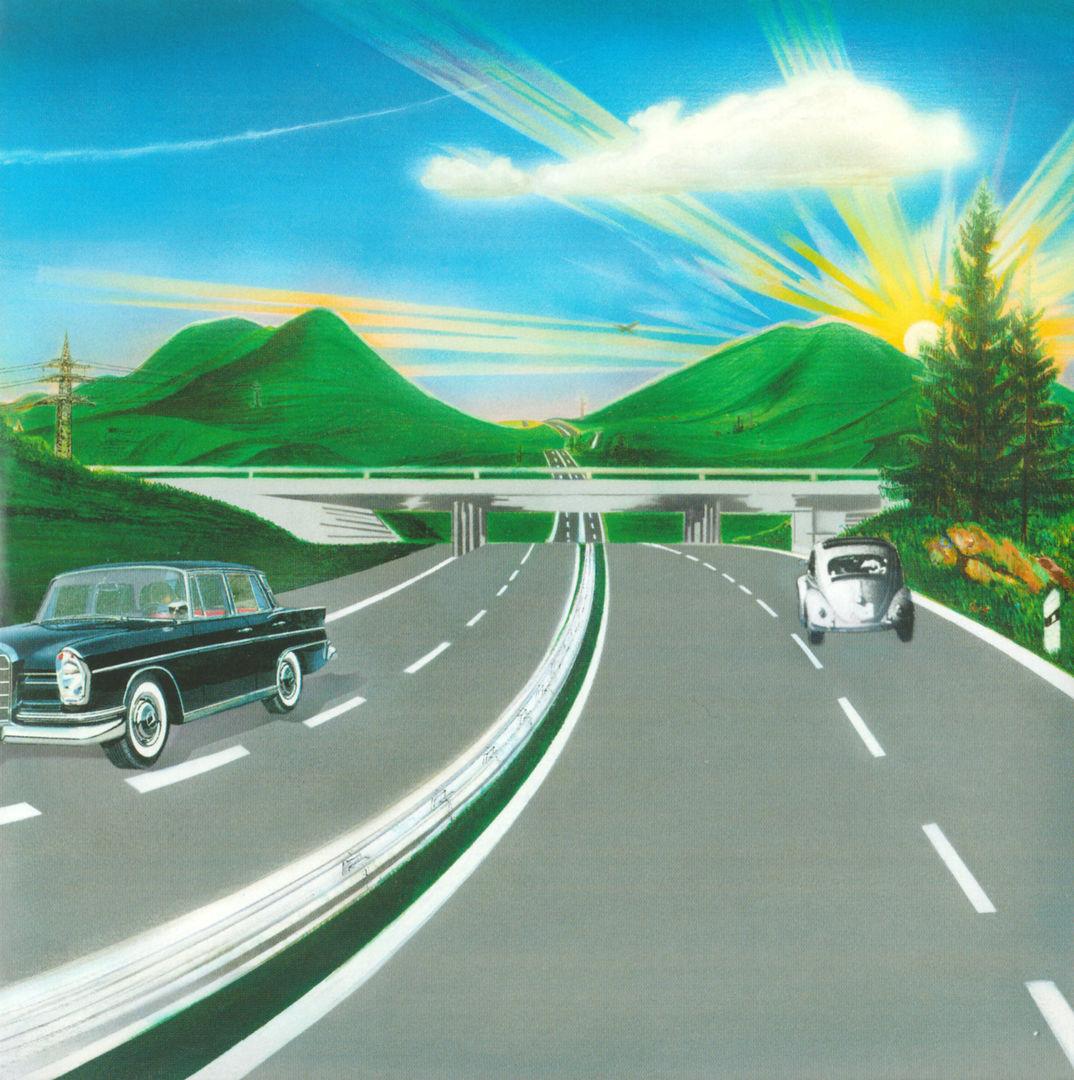 Kraftwerk Autobahn Inlay Classic Rock Magazin
