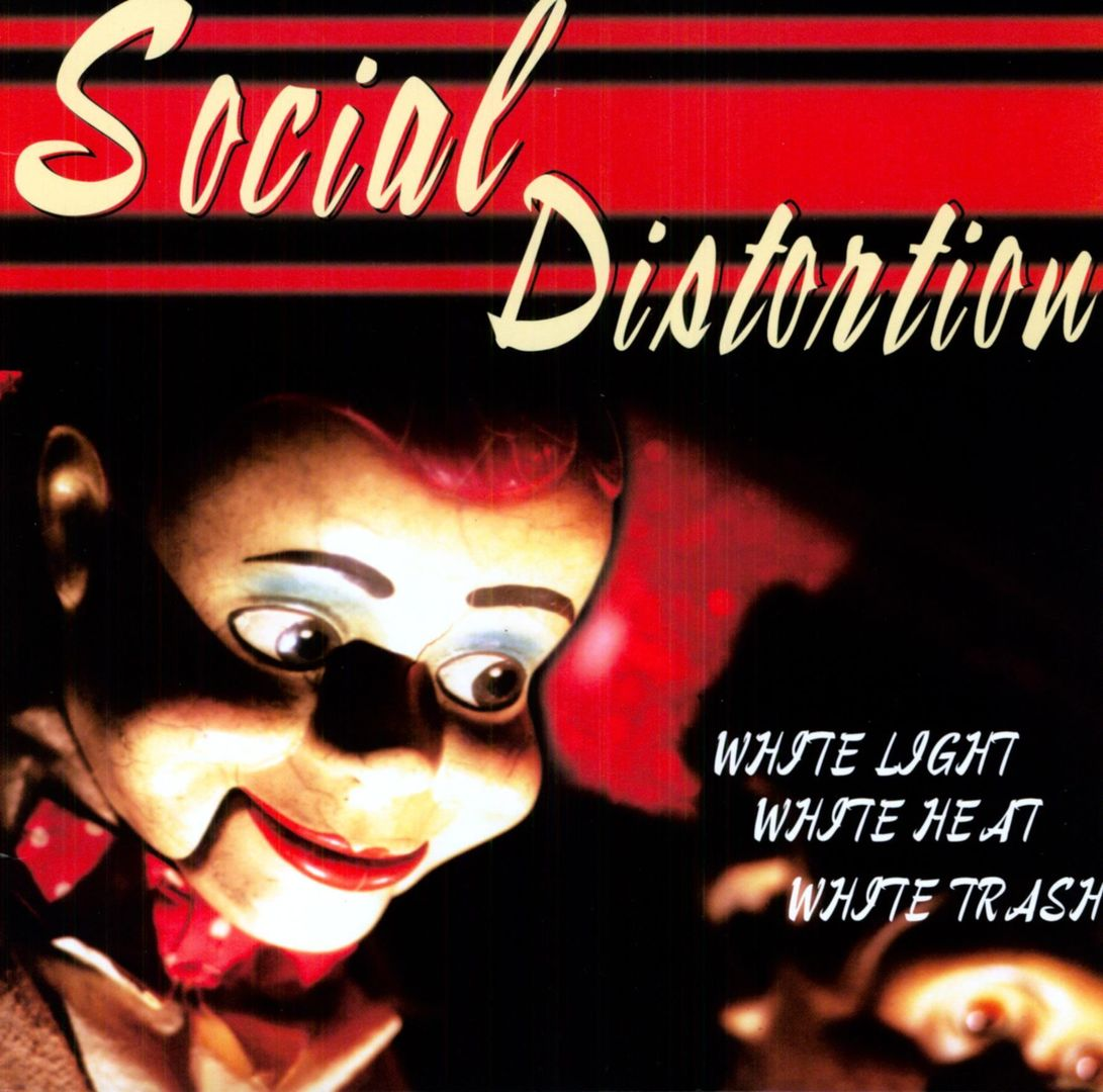 Social Distortion - WHITE LIGHT, WHITE HEAT, WHITE TRASH (1996)