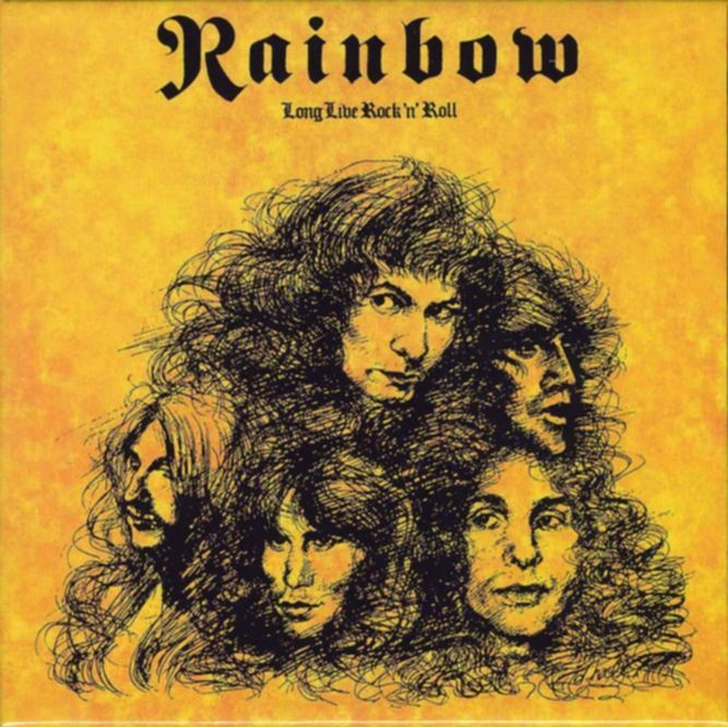 Wunderbar: LONG LIVE ROCK'N'ROLL,  Rainbow (POLYDOR, 1978)