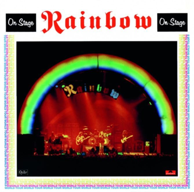 Wunderbar: ON STAGE,  Rainbow  (POLYDOR, 1977)