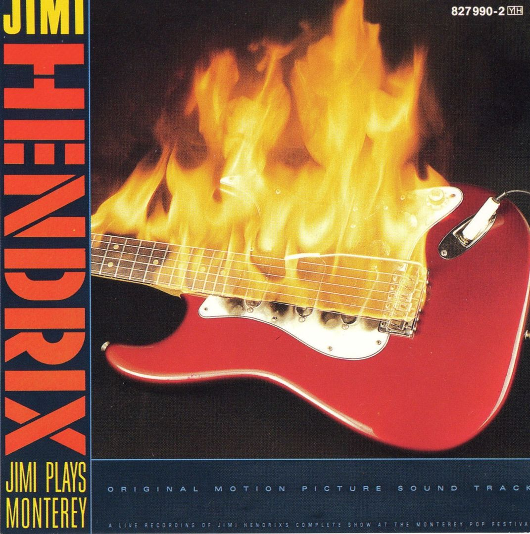 Wunderbar: JIMI PLAYS MONTEREY (Polydor, 1986)