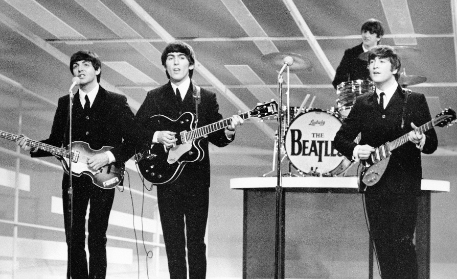 Beatles live im TV