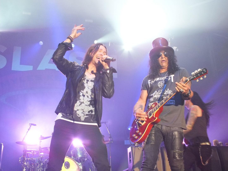 Im Team ergänzten sich Slash und Kennedy perfekt.