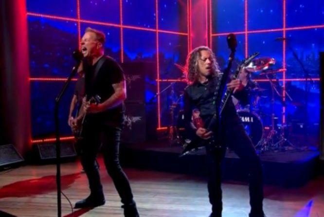 Metallica Late Late Show