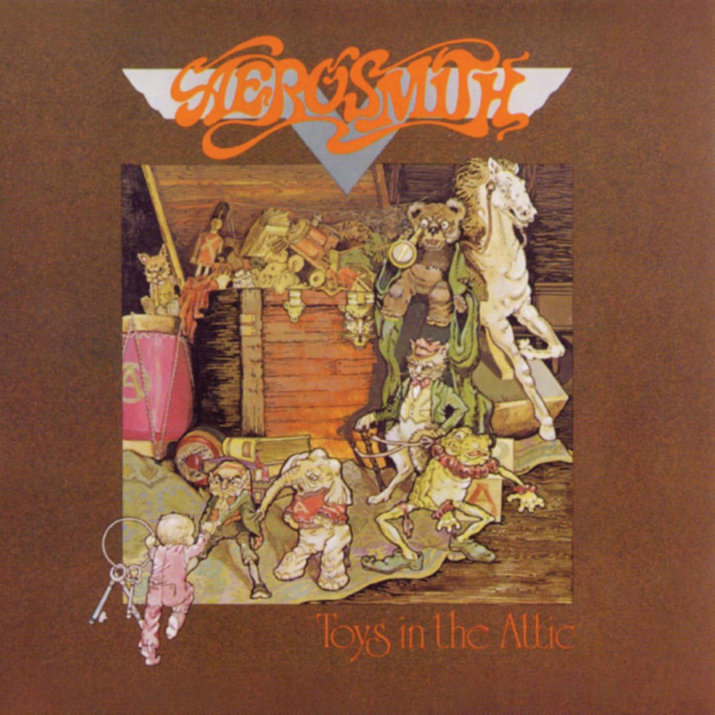 Aerosmith - TOYS IN THE ATTIC (1975)