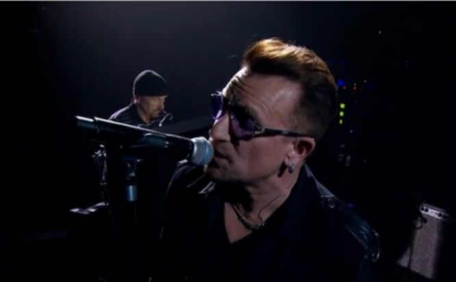U2 Every Breaking Wave