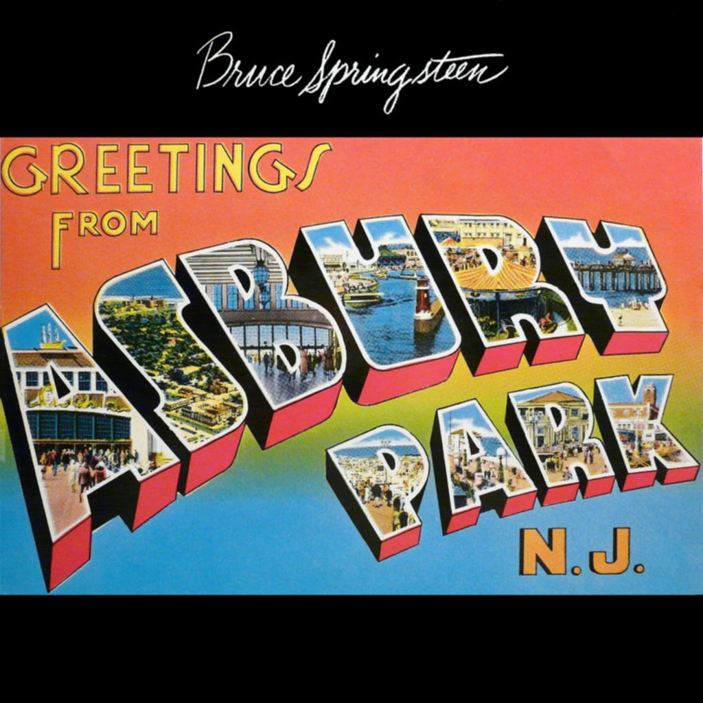 Bruce Springsteen - GREETINGS FROM ASBURY PARK, NJ (1973)
