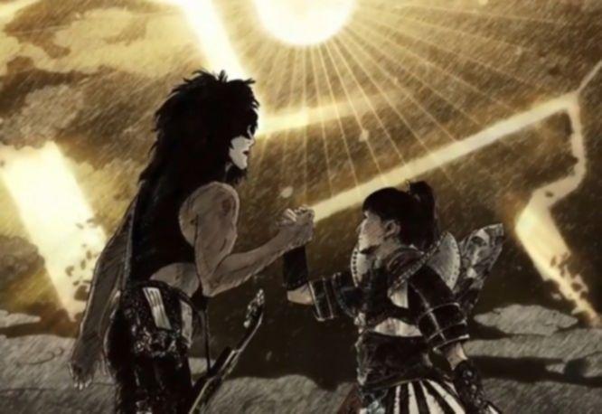 News: Kiss haben sich für ein Video mit der japanischen Girlband Momoiro Clover Z zusammengetan