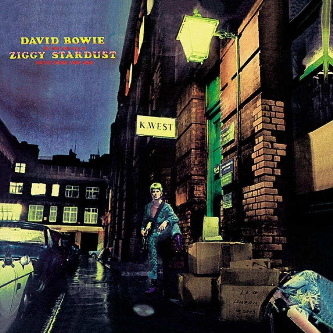David Bowie - THE RISE AND FALL OF ZIGGY STARDUST AND THE SPIDERS FROM MARS (1972)