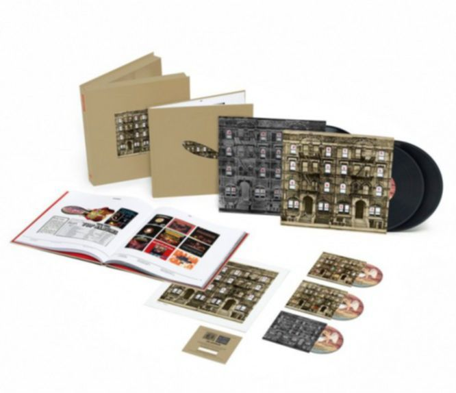 Led Zeppelin Physical Graffiti Box