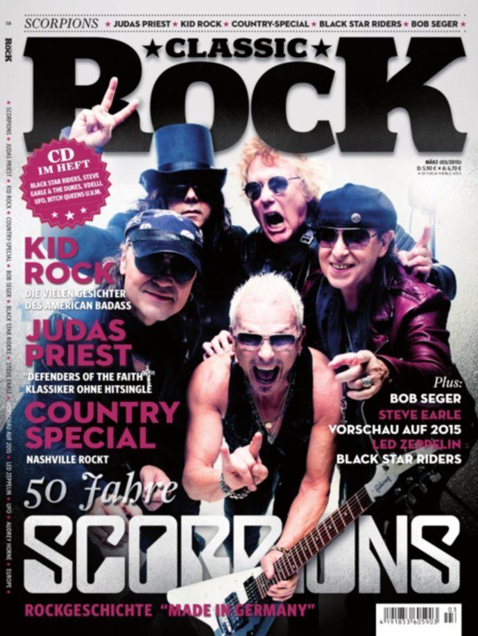 Classic Rock Magazin Ausgabe Nr. 35