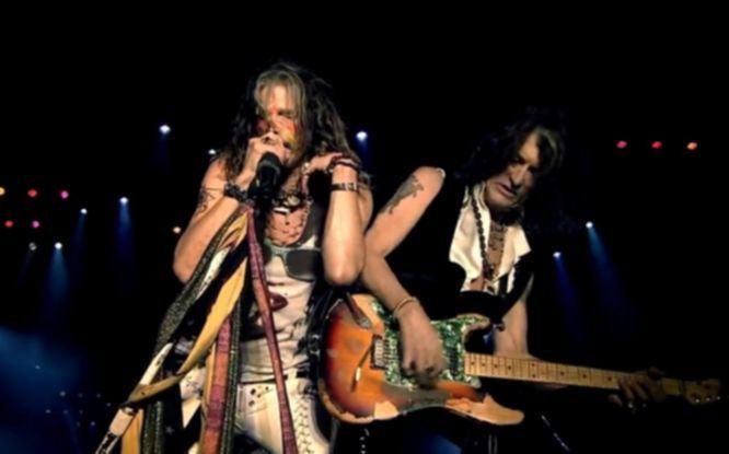 Aerosmith live donington