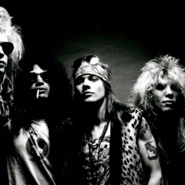 Guns N' Roses 1988 promo