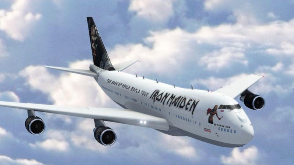 Iron Maiden jet