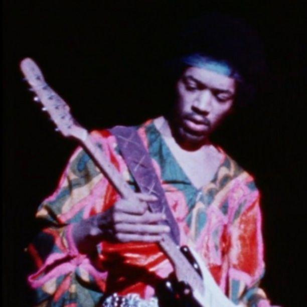 Jimi Hendrix Atlanta Festival video