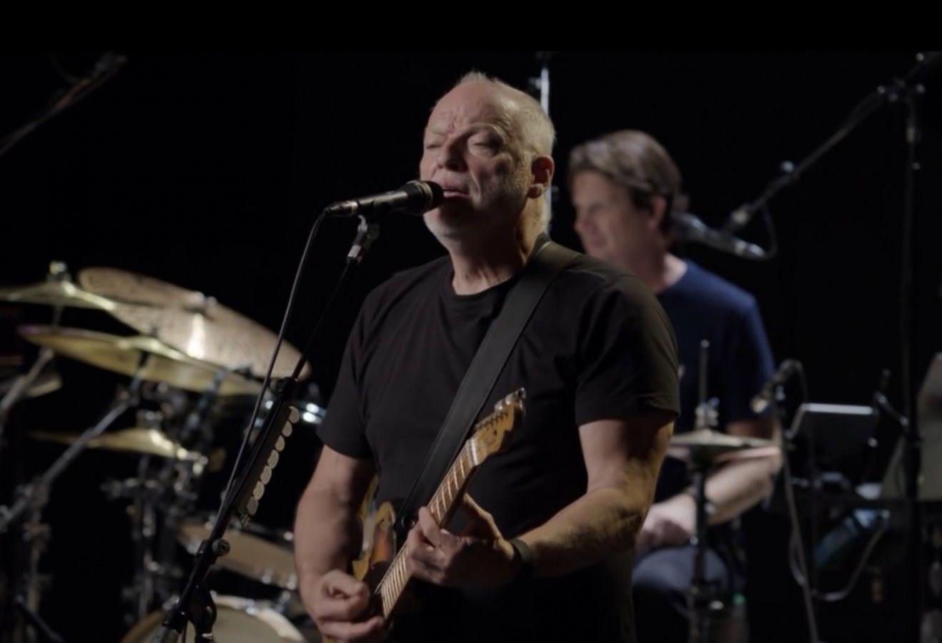 David Gilmour videostill 2015