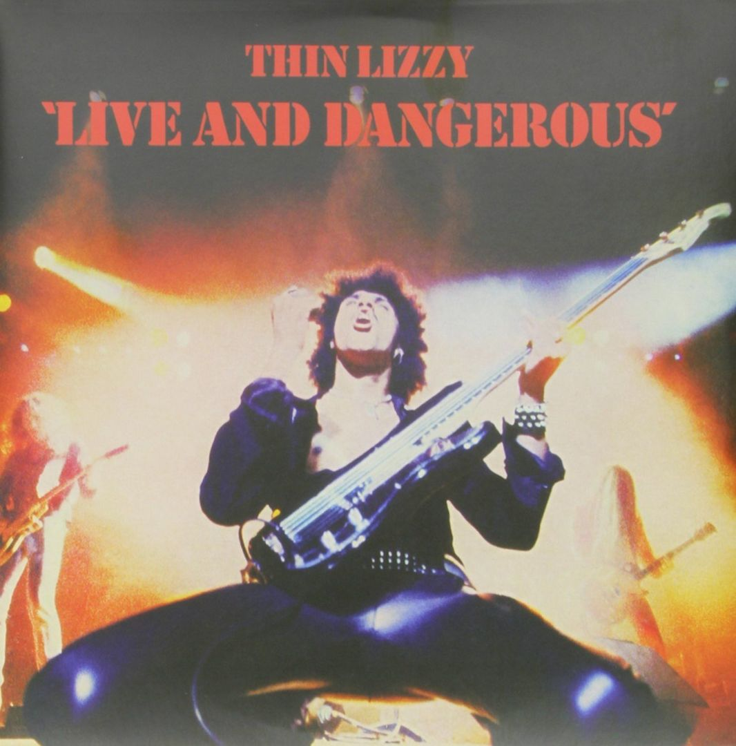 THIN LIZZY - LIVE AND DANGEROUS (1978)