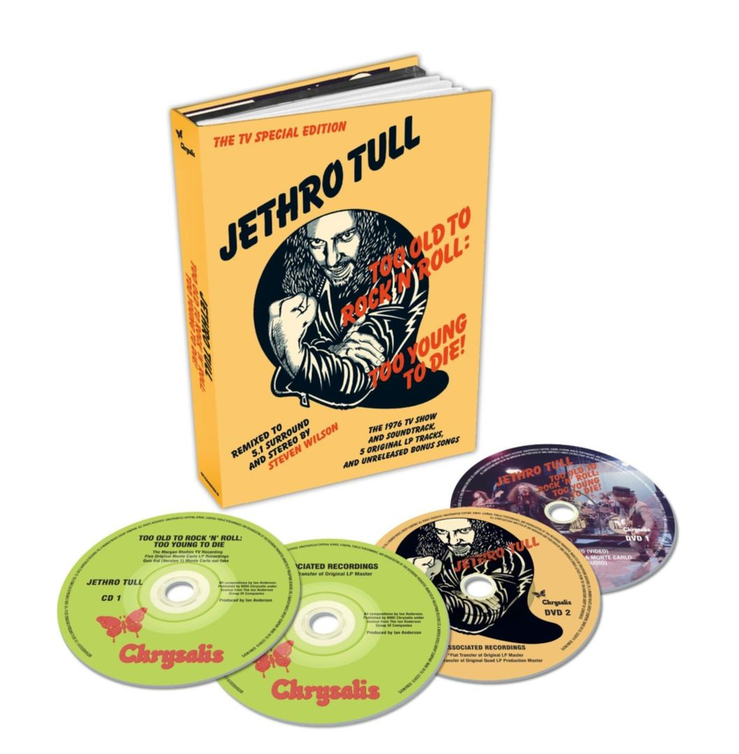 Jethro Tull 40th edition