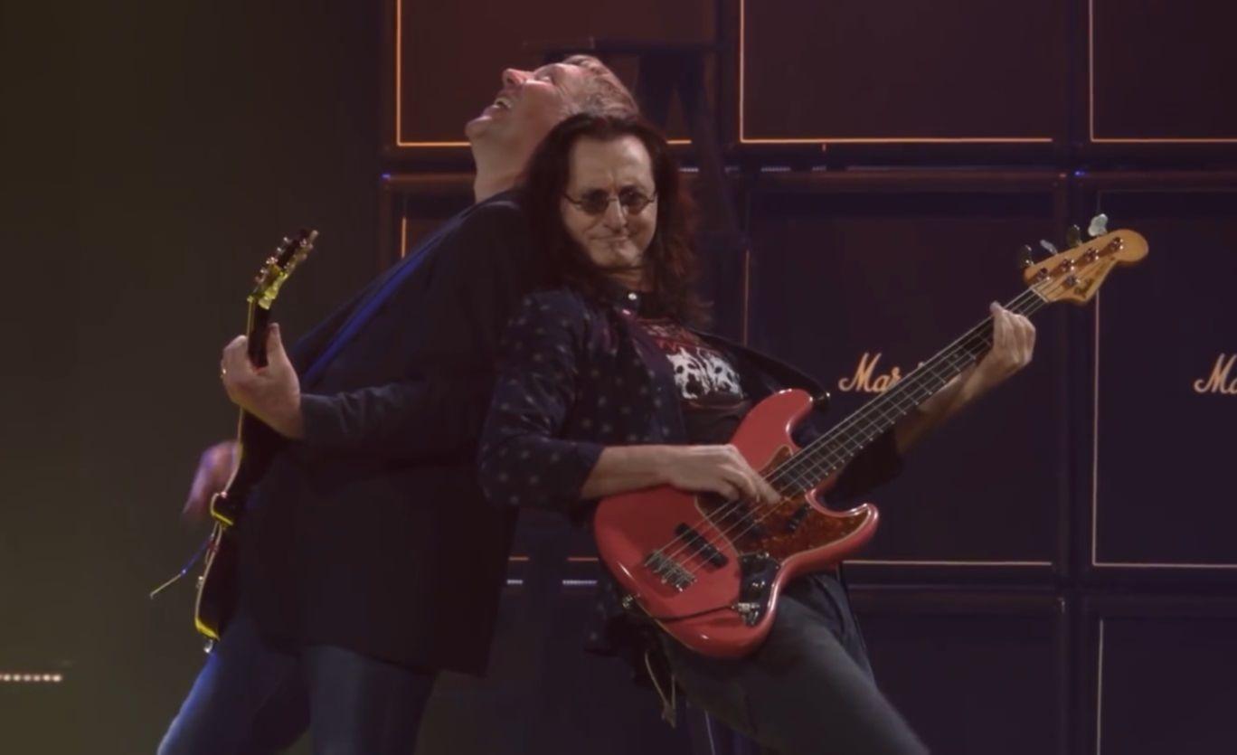 Rush live 40 video shot