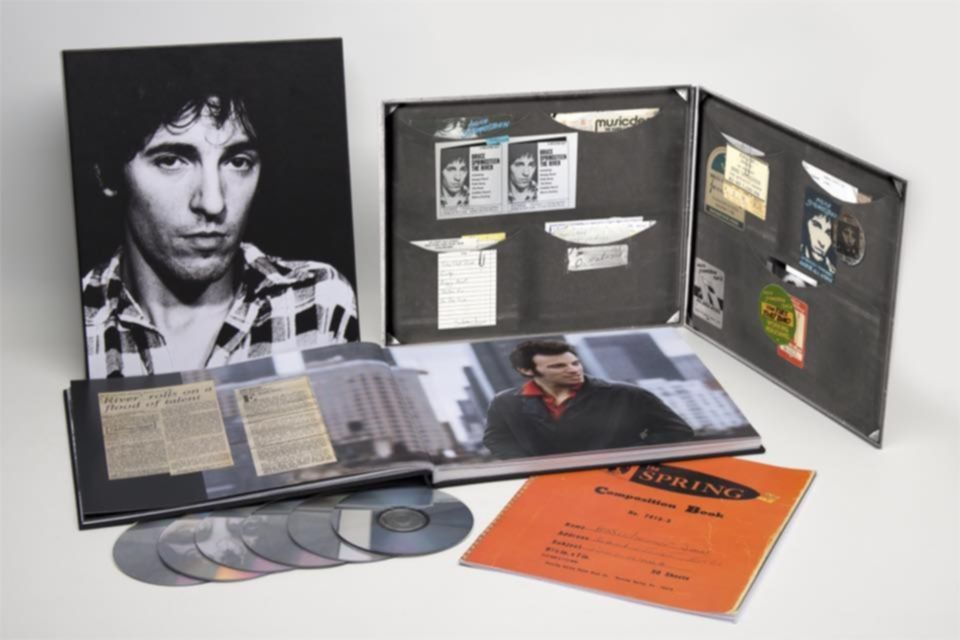 bruce springsteen the river box