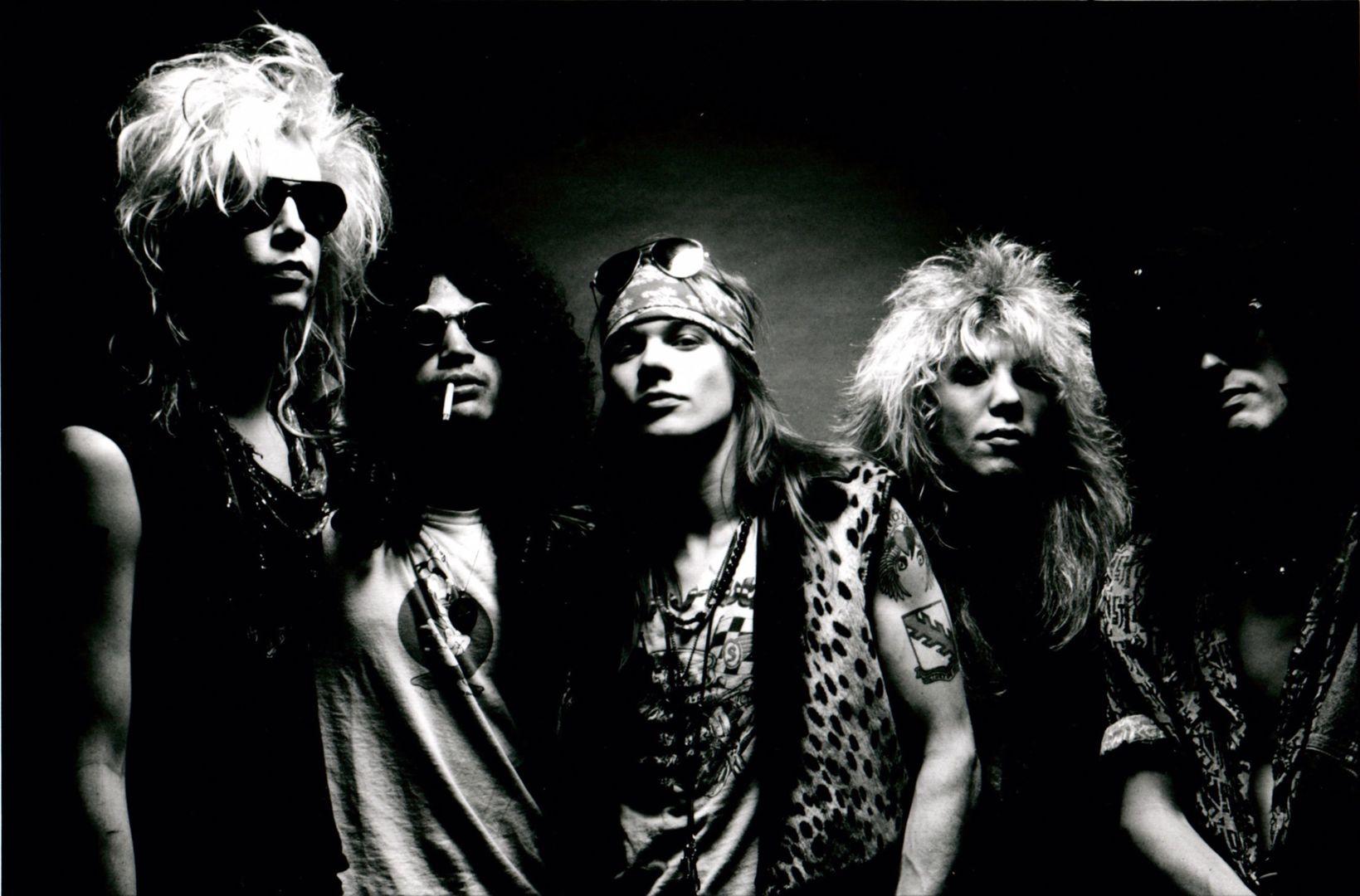 Guns N' Roses 1988 (mit Steven Adler)
