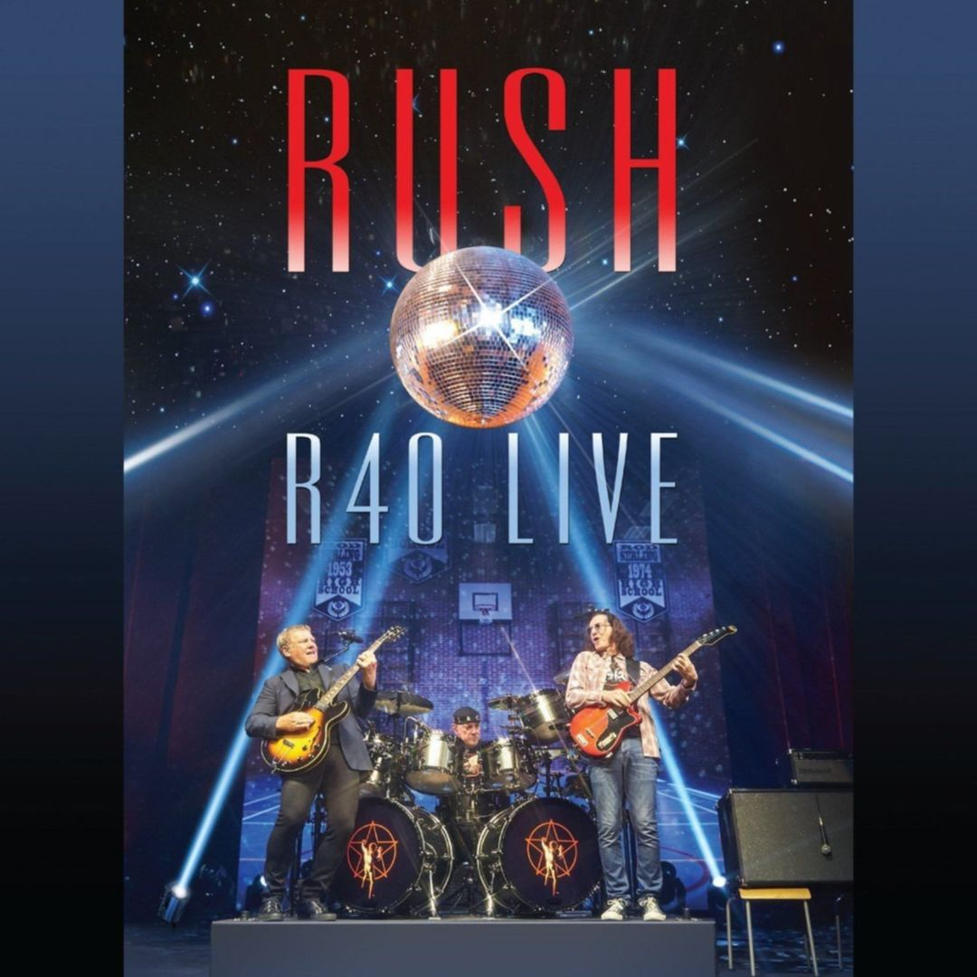 rush r40 live cover