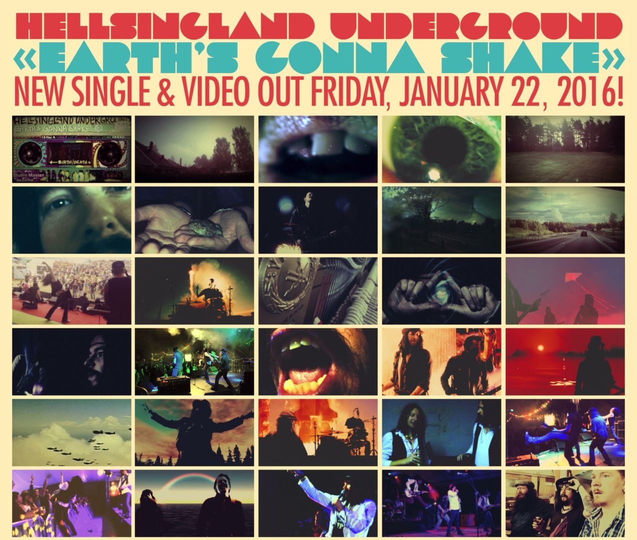 EARTH GONNA SHAKE VIDEO poster