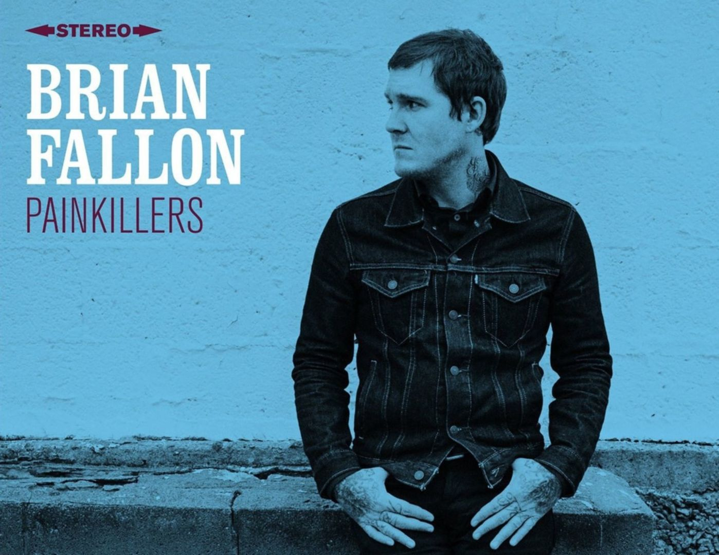 Review brian fallon painkillers classic rock magazin for Painkillers for tattoos