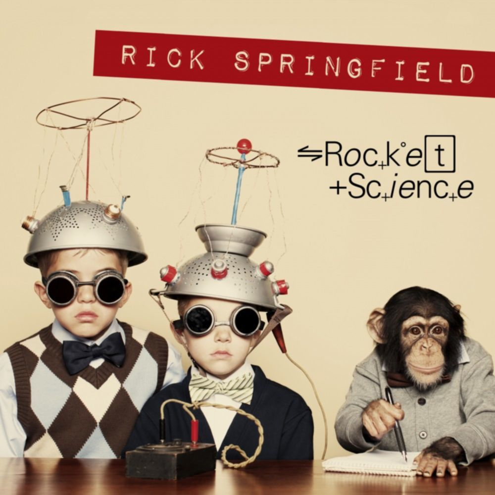 album_cover_RICK SPRINGFIELD Rocket Science
