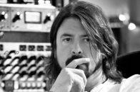 Dave Grohl im Studio