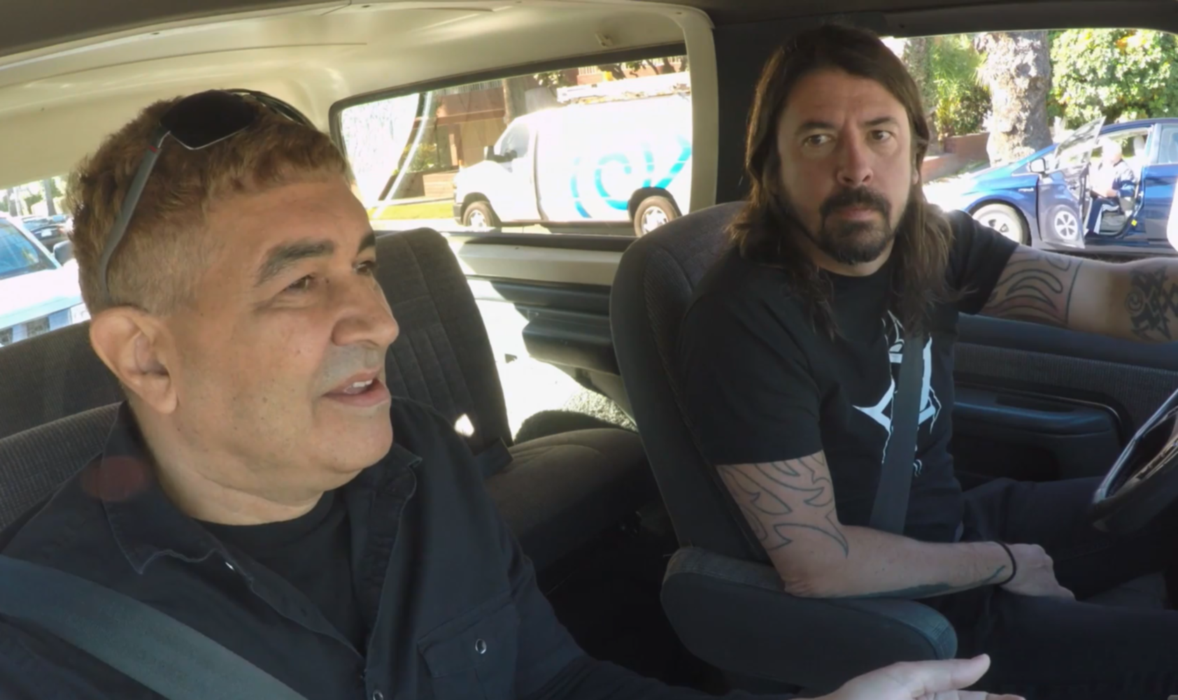 dave grohl pat smear bowie