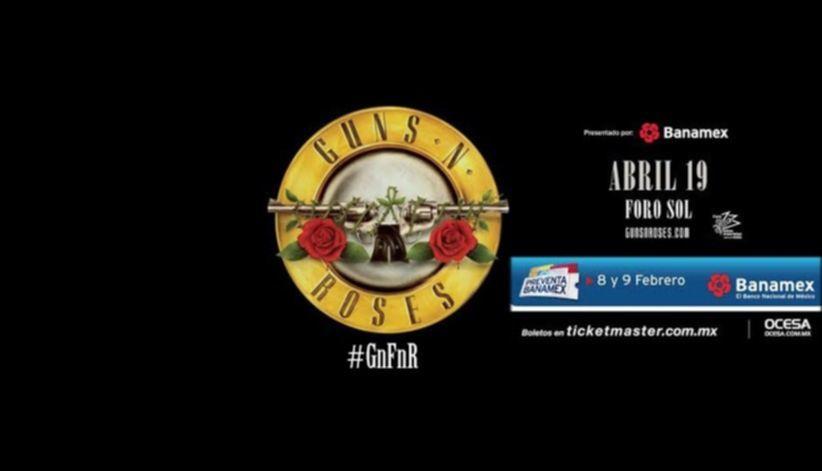 guns n roses mexico