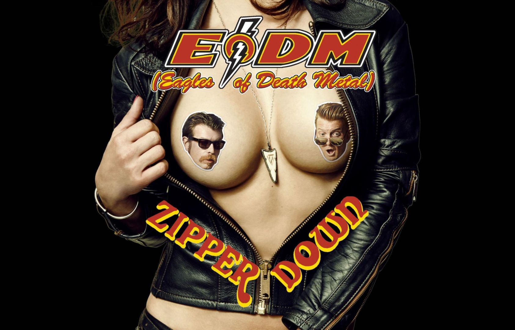 Cover art for Zipper Down.</em