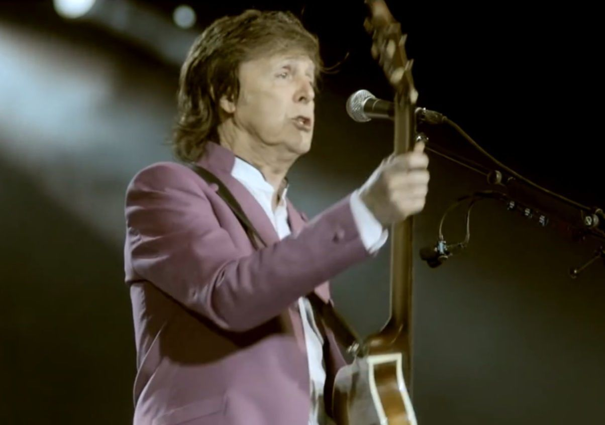 paul mccartney video still 2016