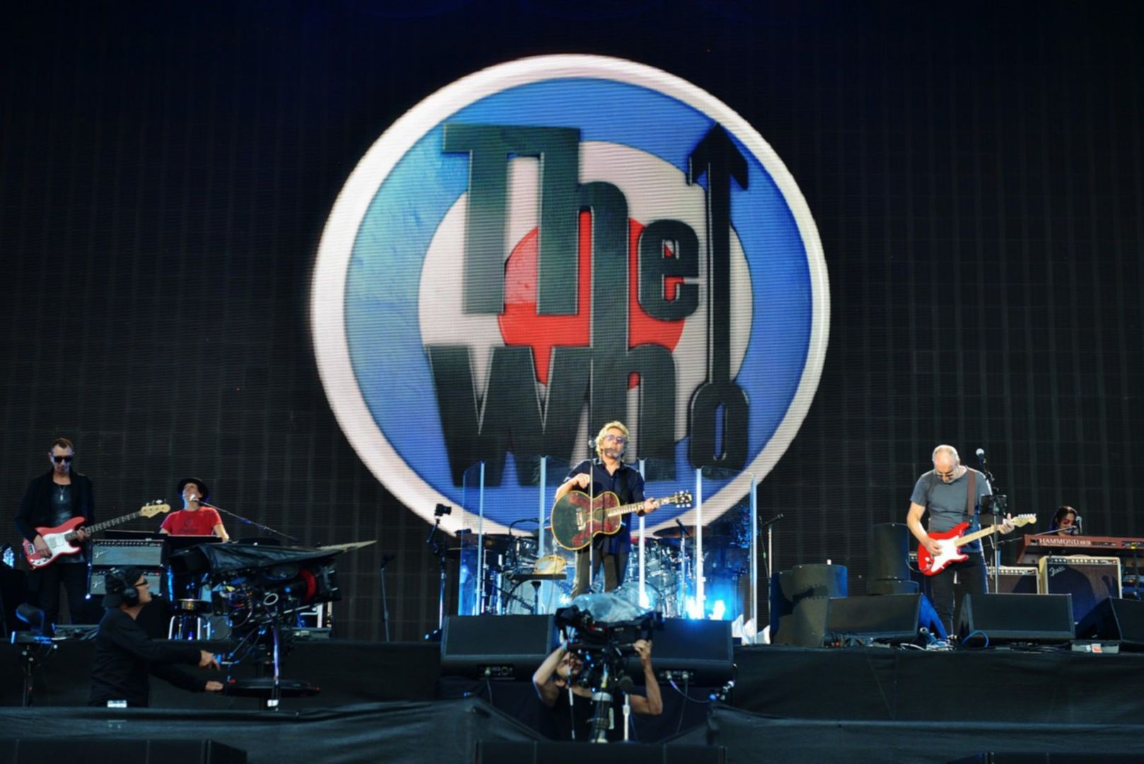 THE WHO Bst Summer festival - Hyde Park London, 26 Juin.2015 Photo: Fabrice DEMESSENCE.