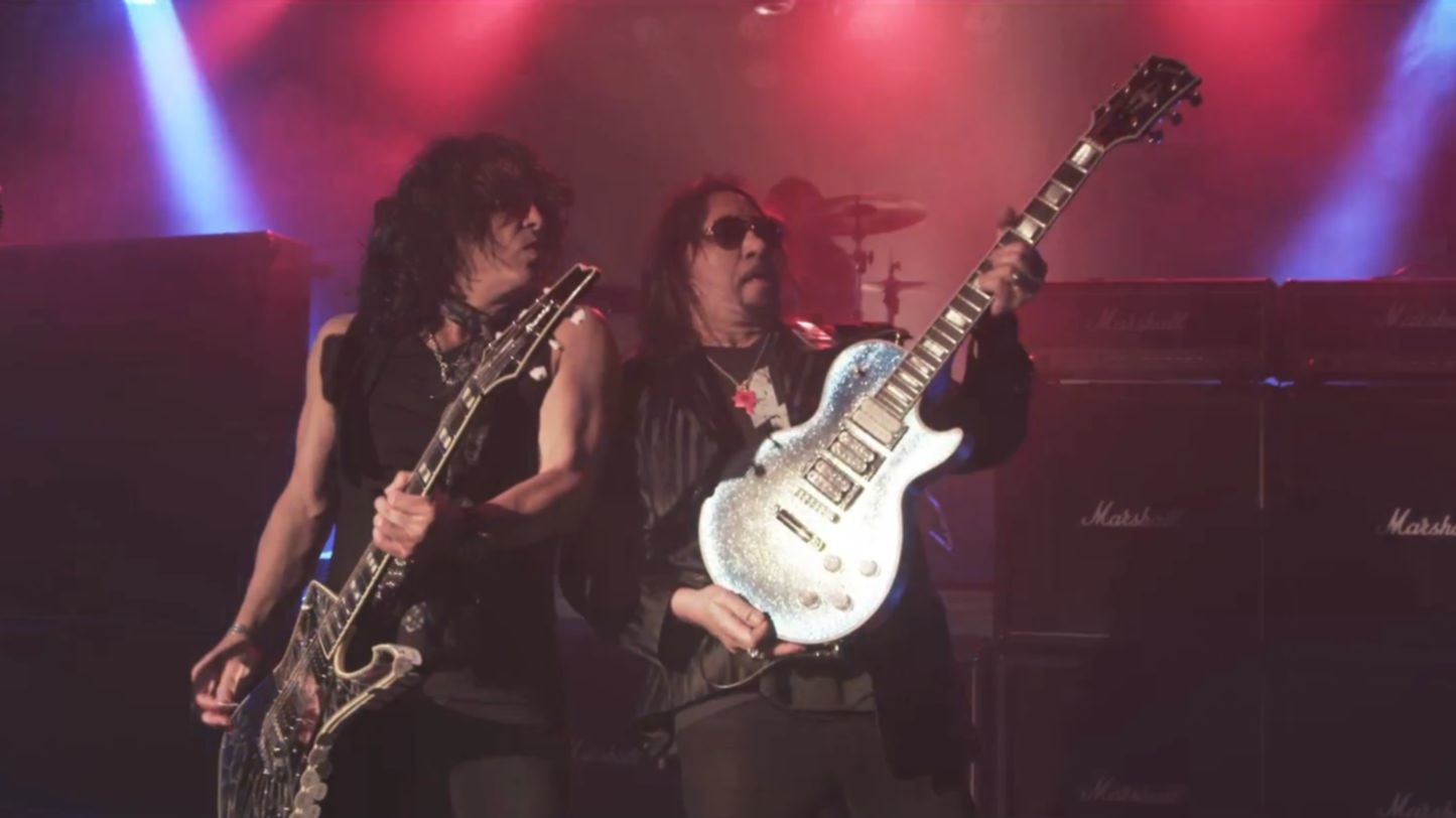 ace frehley paul stanley video still