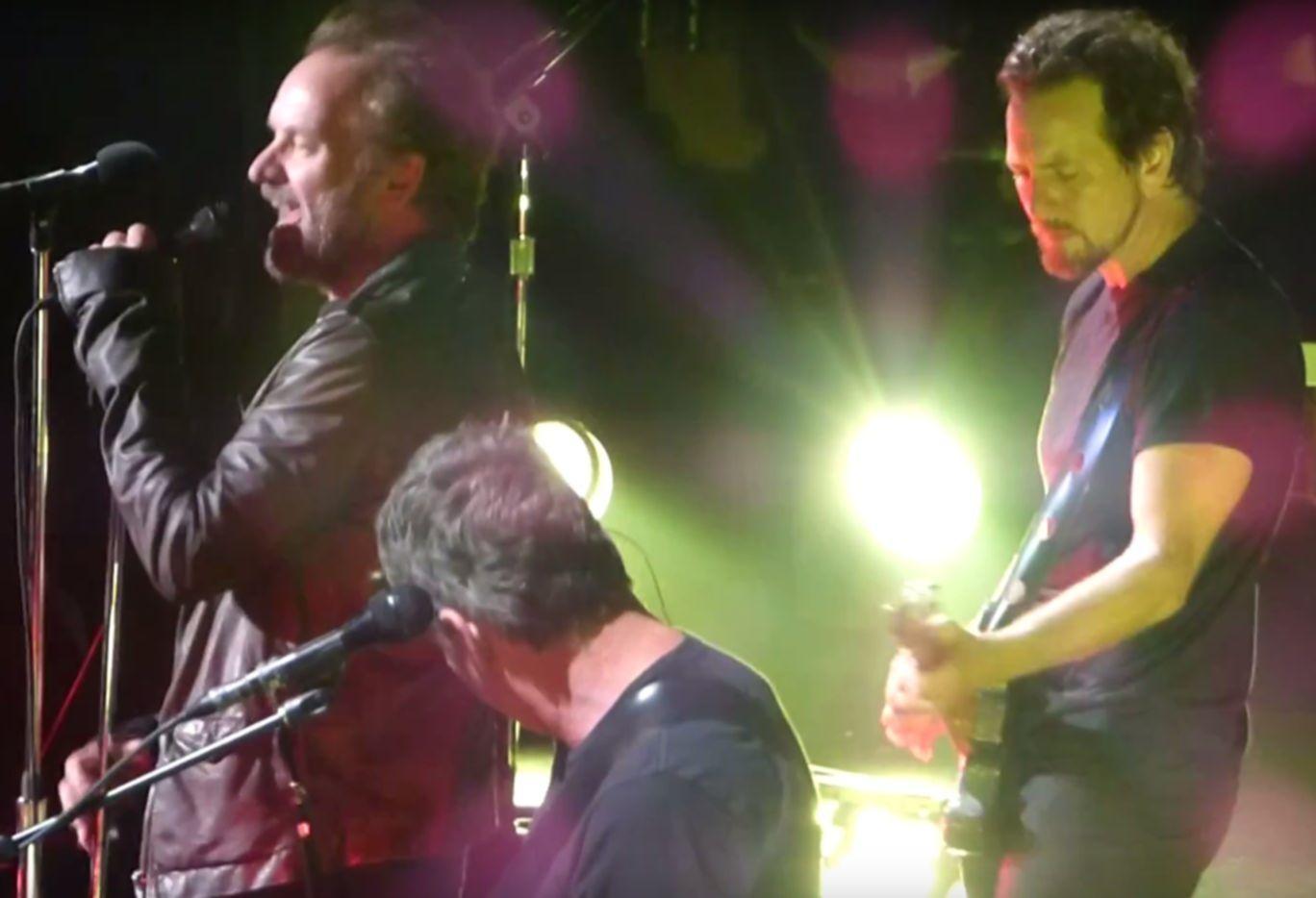 Pearl Jam Sting