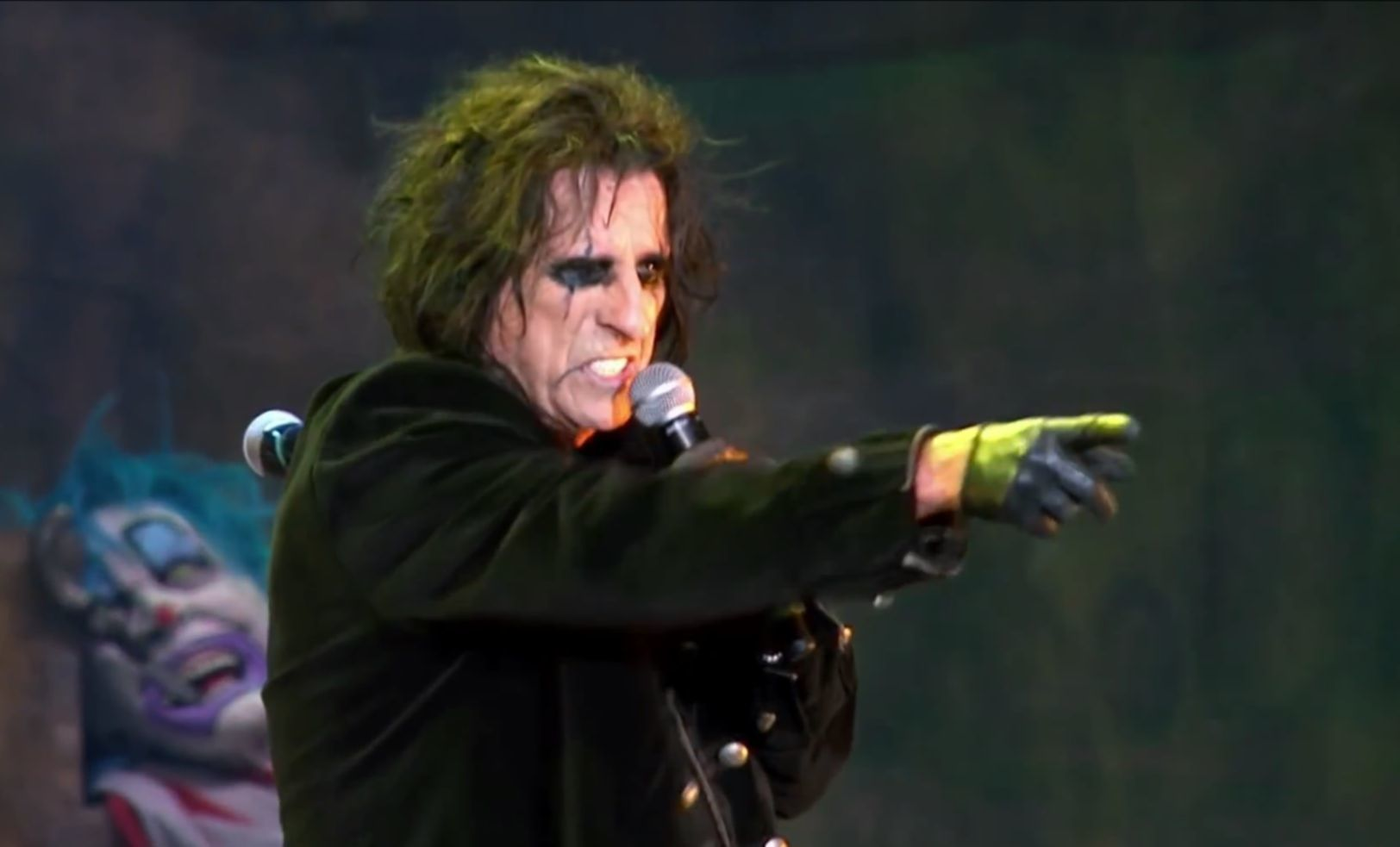 alice cooper video still