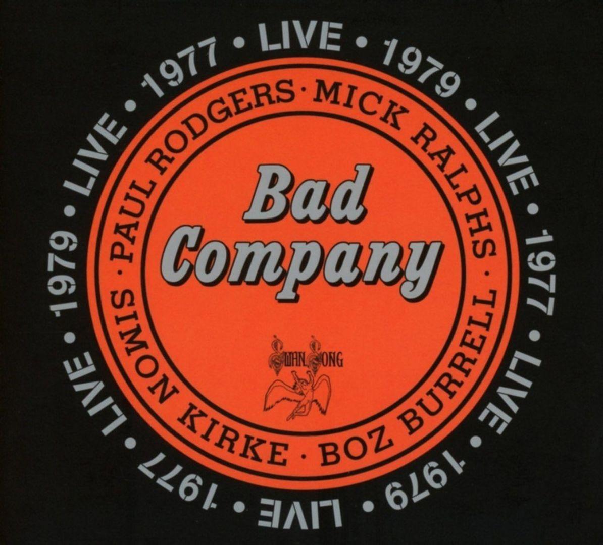 bad company live 1977 1979