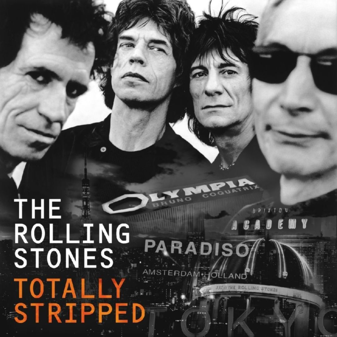 rolling stones totally stripped