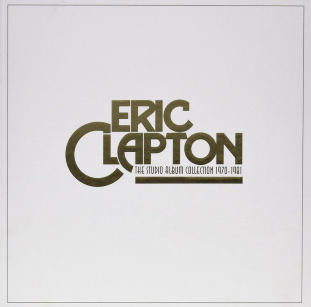 eric clapton studio album collection