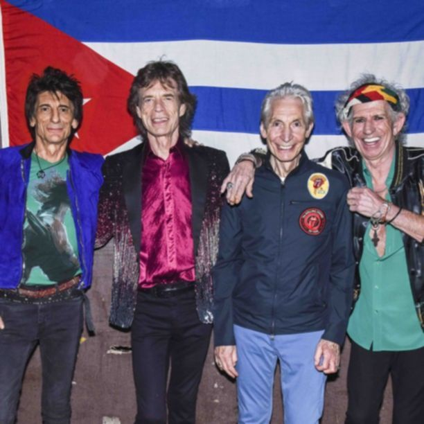 HAVANA, CUBA - MARCH 25:  The Rolling Stones backstage before their concert at Ciudad Deportiva on March 25, 2016 in Havana, Cuba.    Pic. Credit: Dave J Hogan