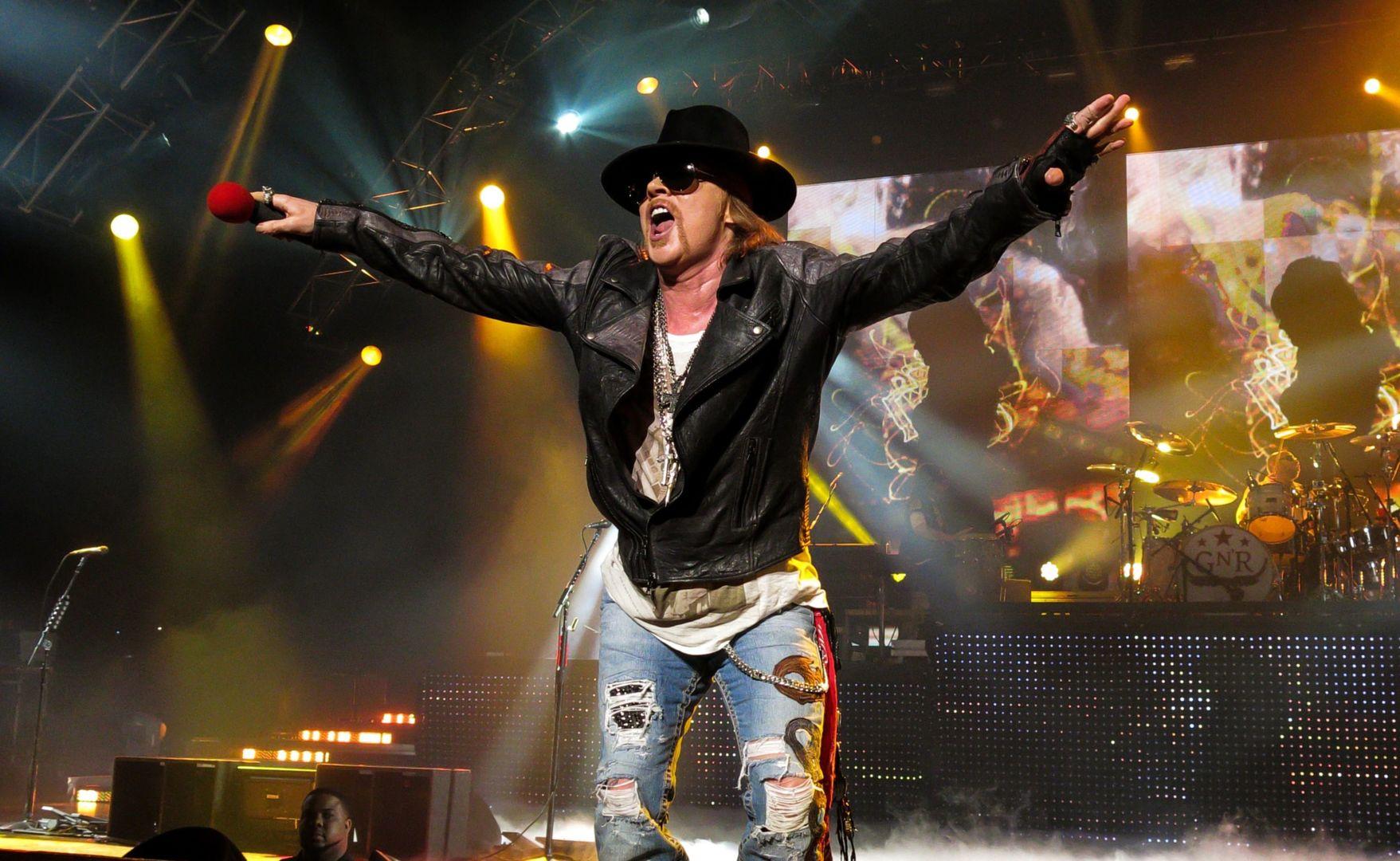 Guns N Roses Axl promo