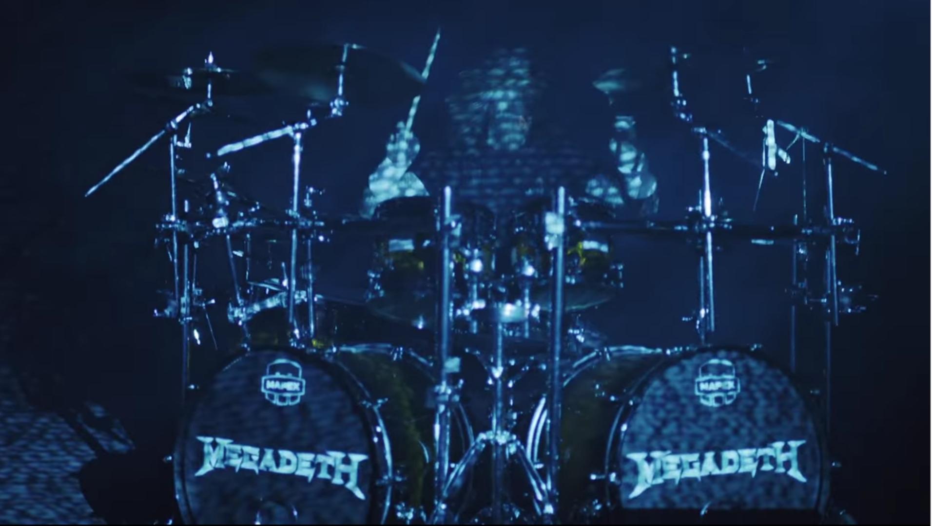 megadeth drums utube