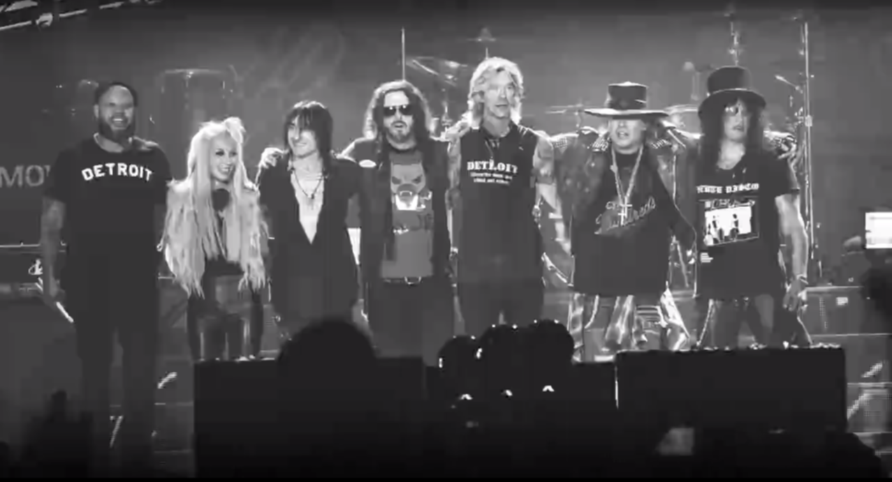 guns n roses facebook video